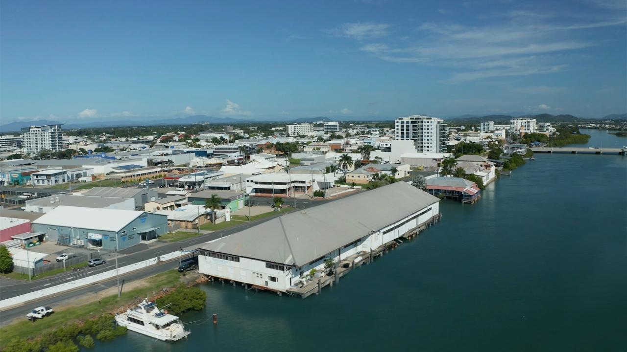 Original fishing sheds at 6 River St, Mackay. Picture: Mackay Regional Council