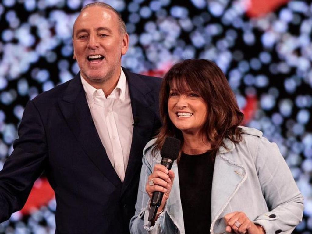 Bobbie and Brian Houston enjoy an energetic sex life, she says.