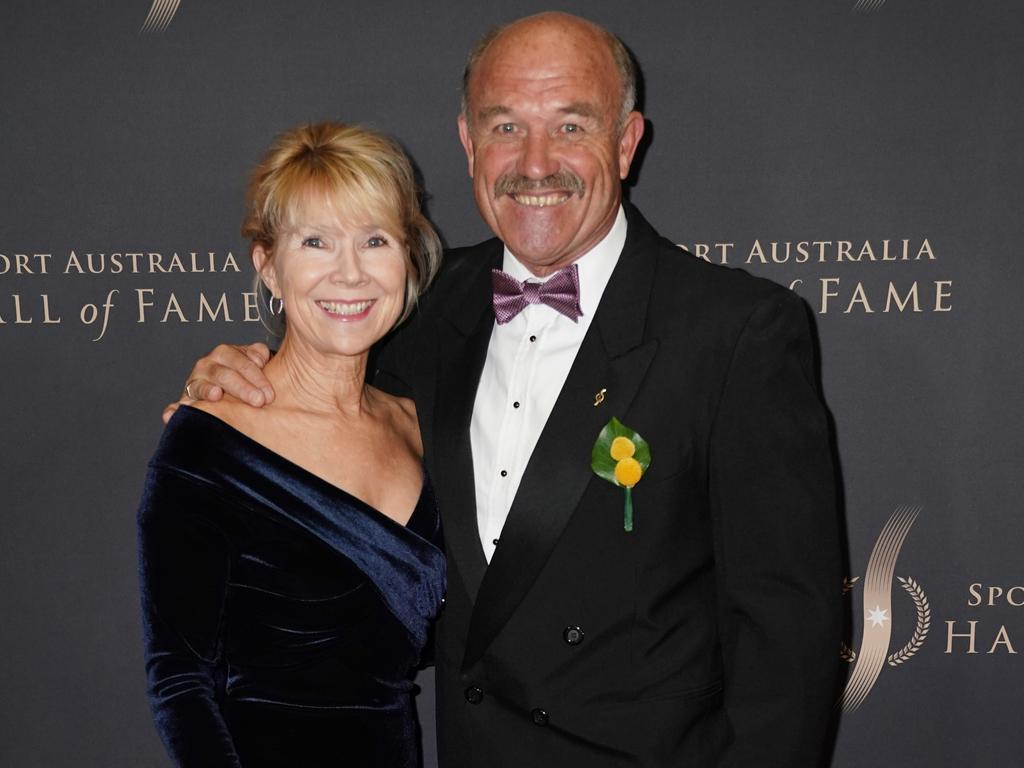 Wally and Jackie Lewis were married for 36 years. (AAP Image/Michael Dodge)
