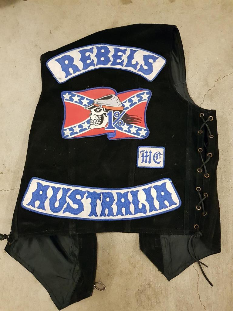 Bikies are being encouraged to trade in their colours. Photo: QPS