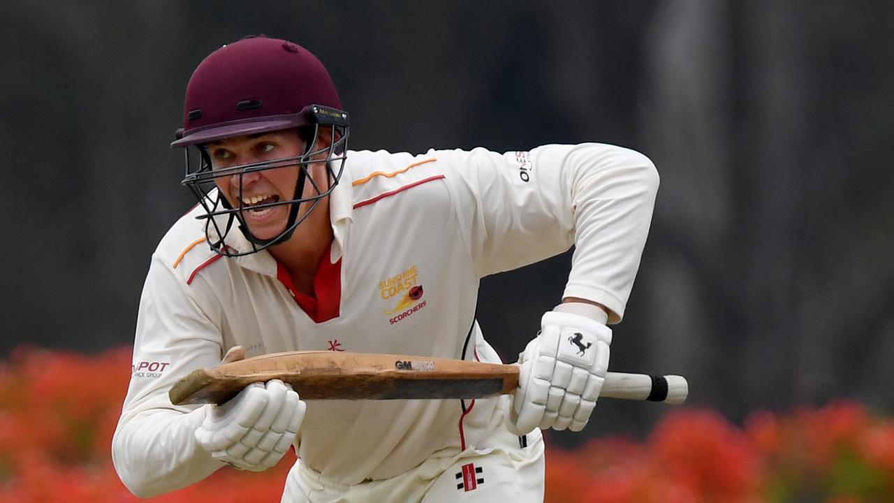 Sunshine Coast Scorchers batsman Brendan Mahaffey. Picture: Warren Lynam