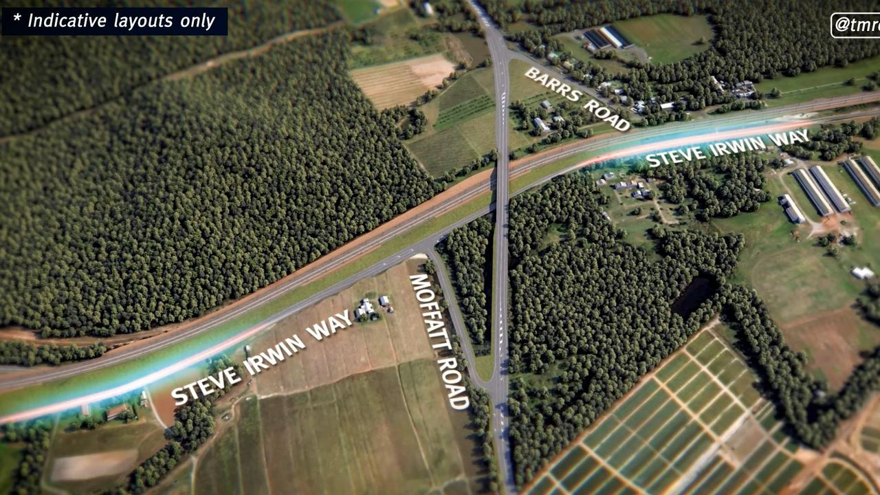 The Beerburrum to Nambour (B2N) Rail Upgrade includes a number of new road over rail bridges, including at Barrs Rd.