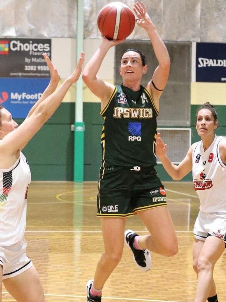 Ipswich Force co-captain Amy Lewis. Picture: Megan Low