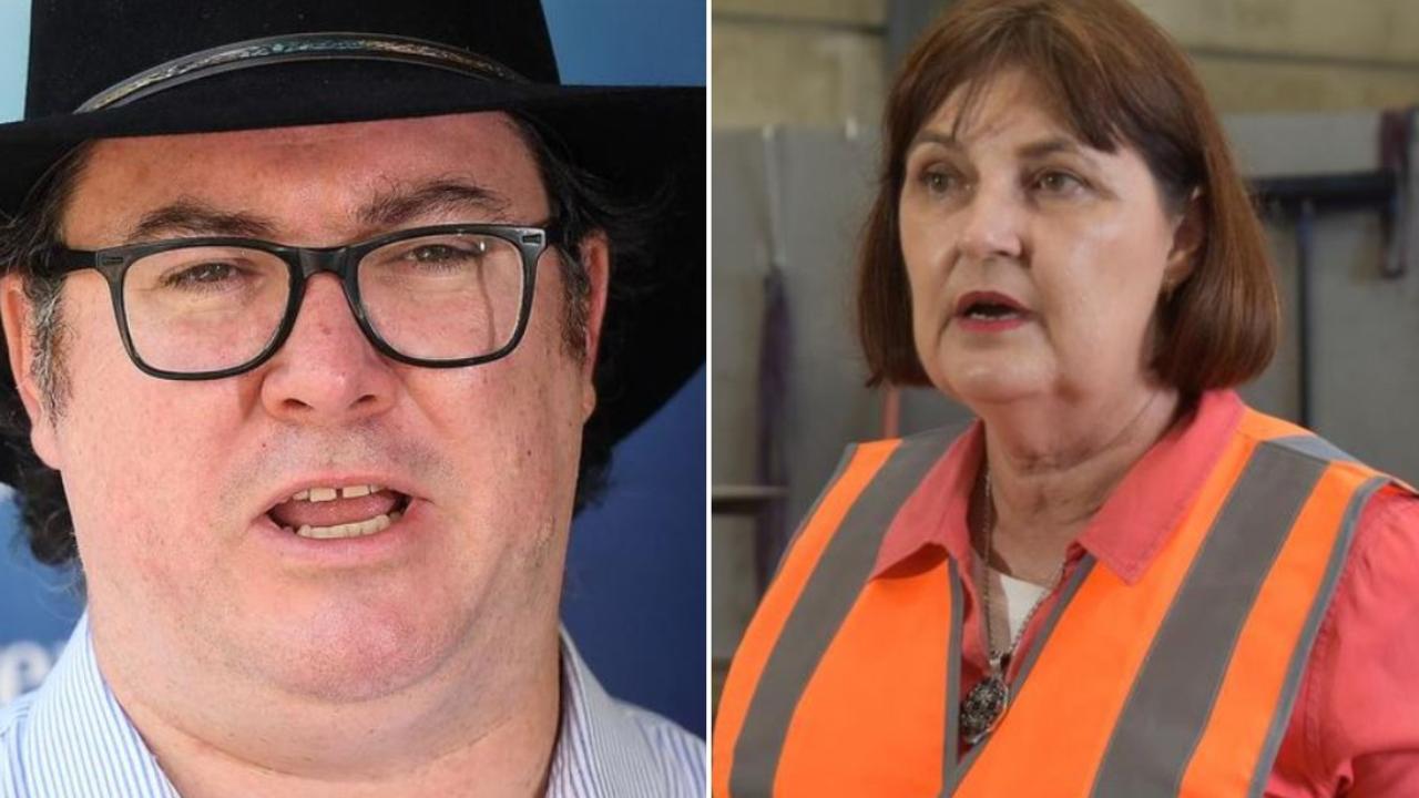 Dawson MP George Christensen and Mackay MP Julieanne Gilbert