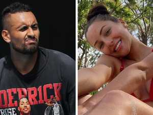 Kyrgios erases girlfriend from his memory