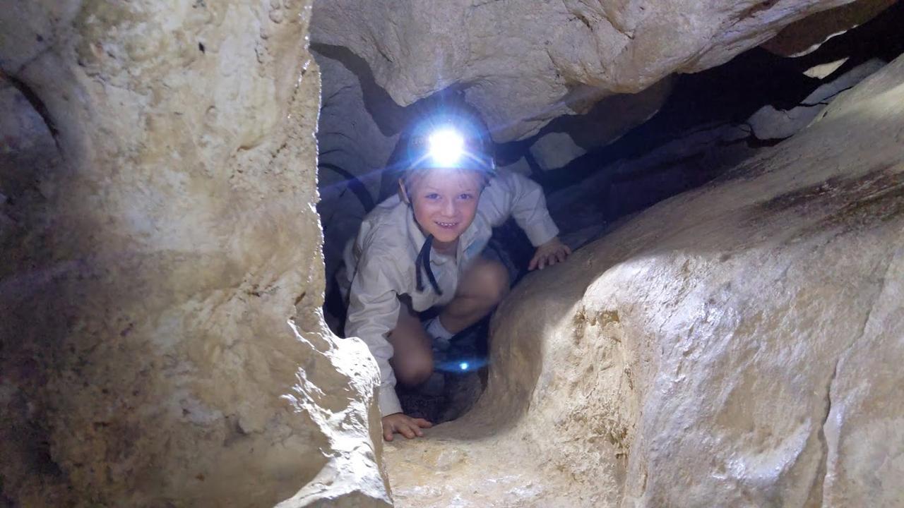 Owen at Capricorn Caves