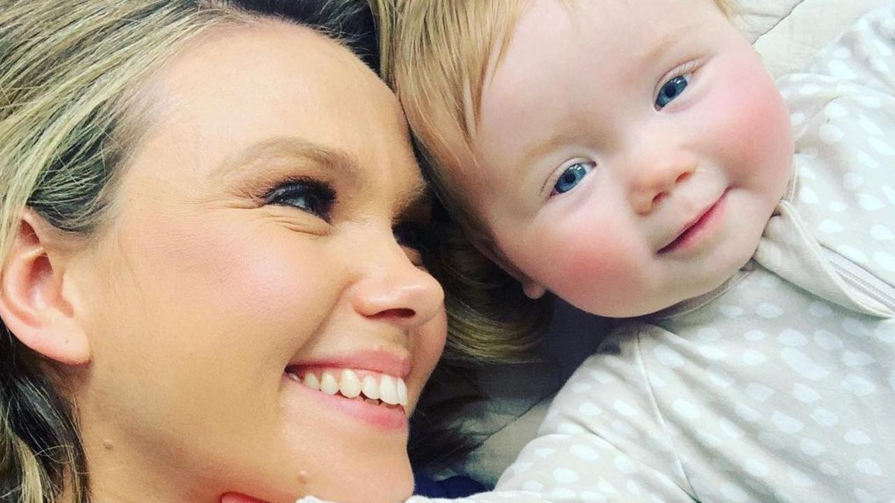 Edwina Bartholomew with her daughter. Picture: Instagram