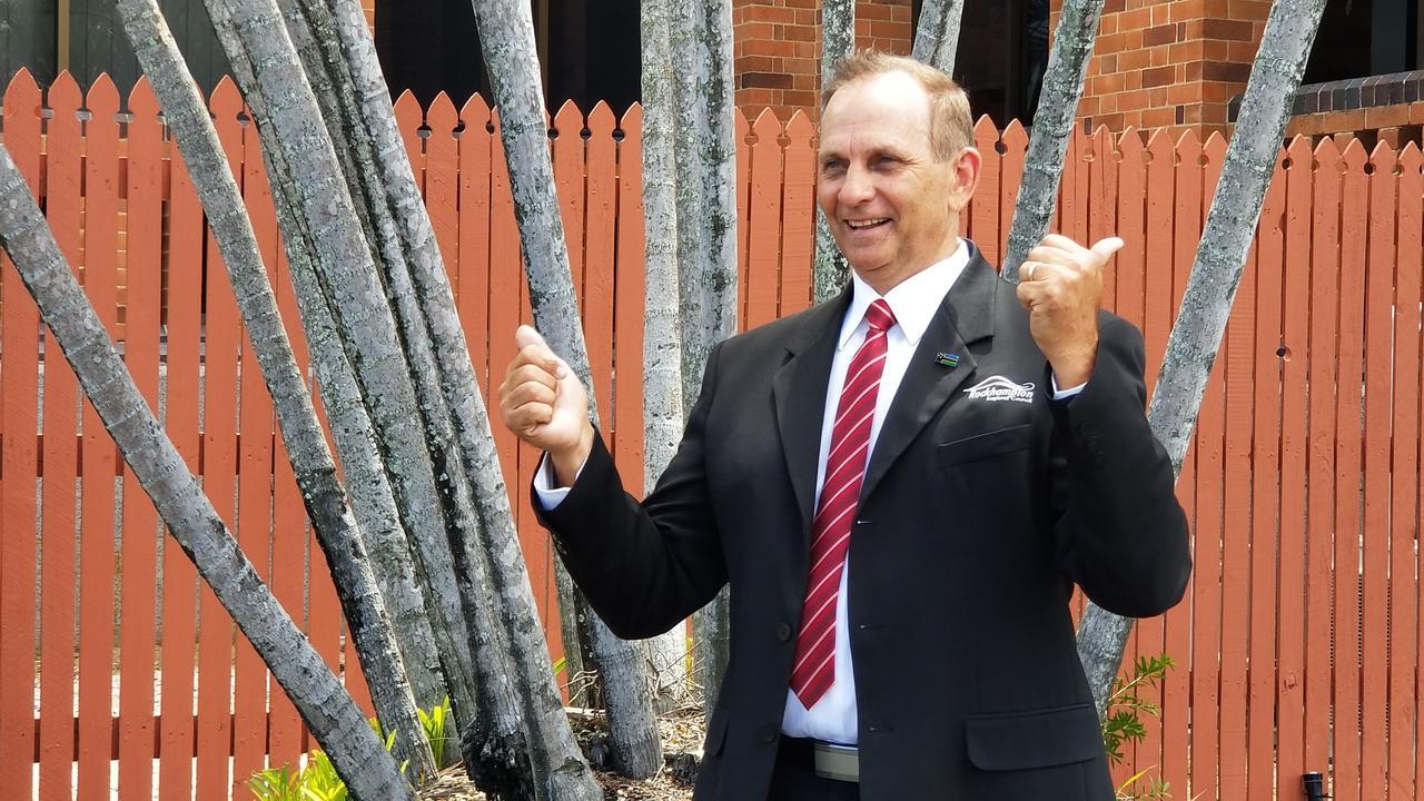 Rockhampton Regional Council mayor Tony Williams.