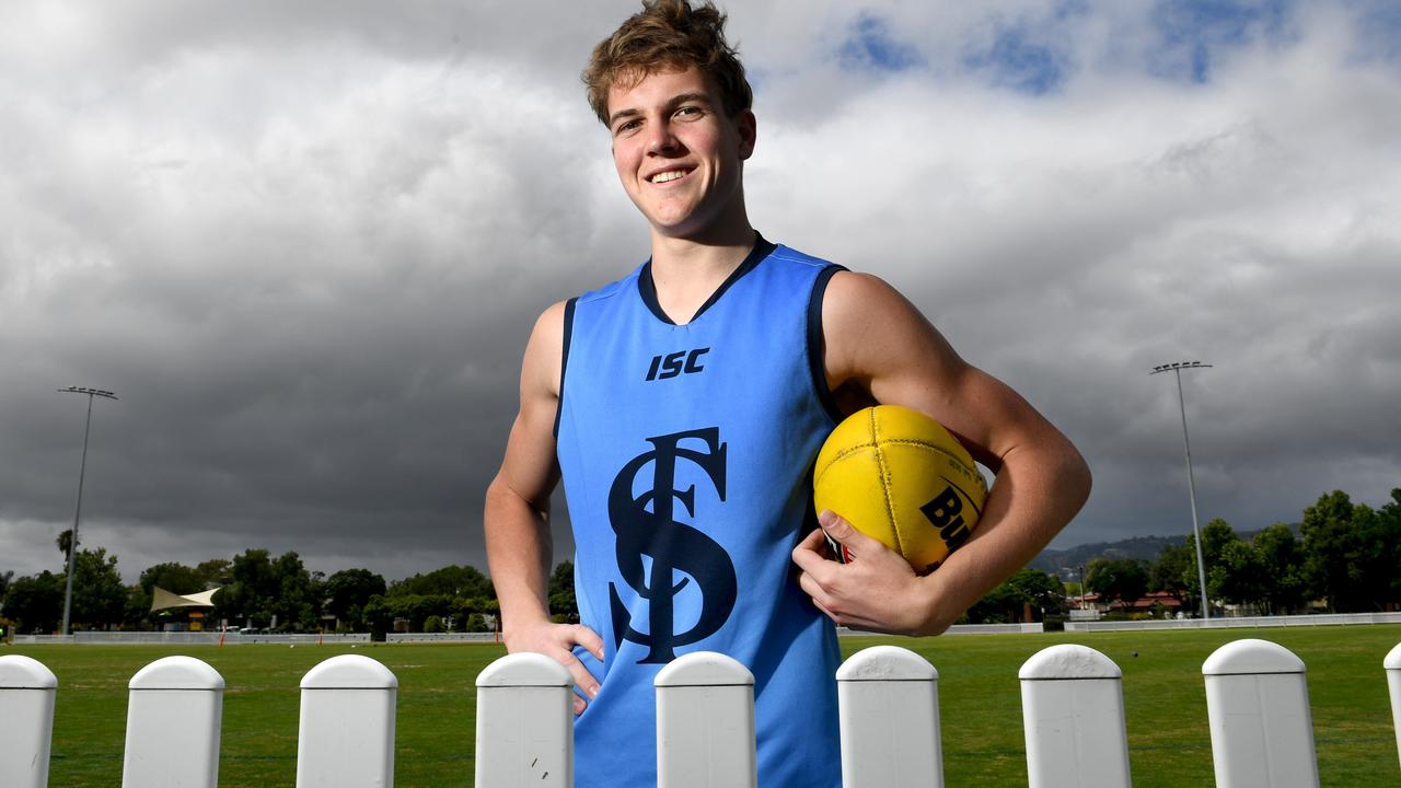 Tom Powell averaged huge numbers in the SANFL under-18 competition.