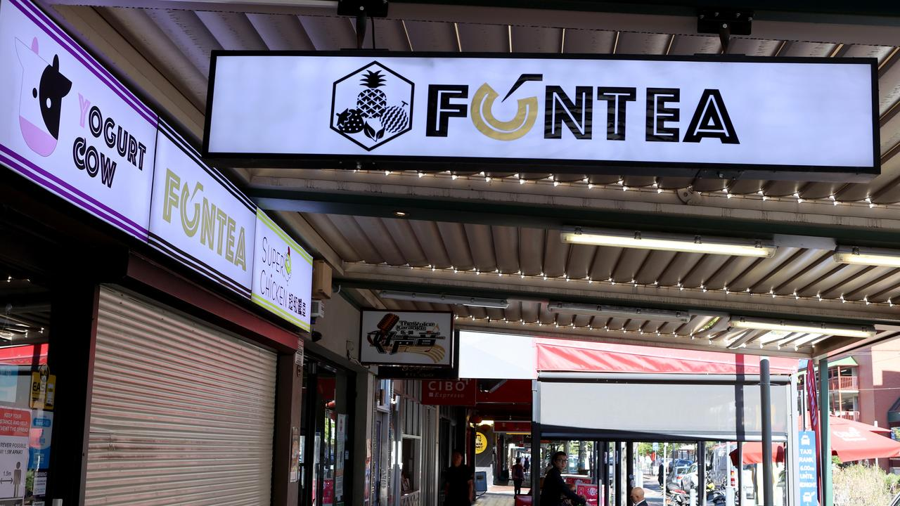 Protesters swarmed the front of Fun Tea, as the victims of the bubble tea cafe brawl broke their silence, claiming they are victims of wage theft.