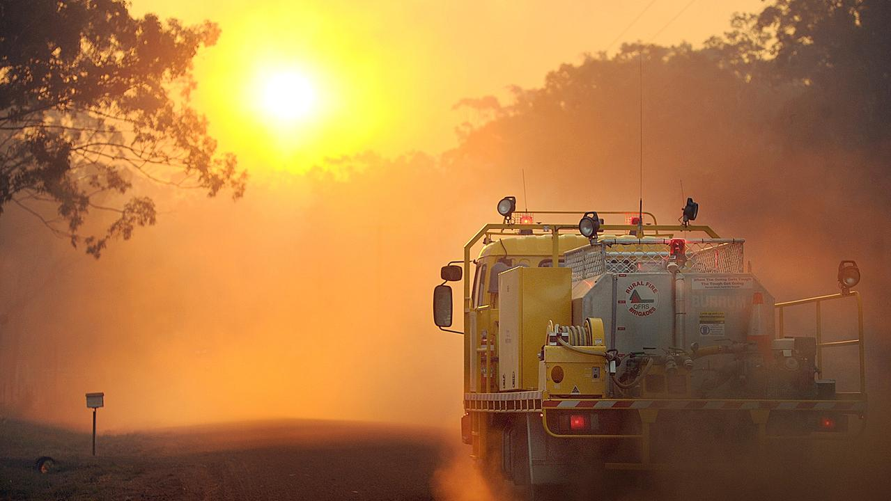 Rural fire crews are mopping up a fire at Sunshien Acres. Photo: Alistair Brightman /File