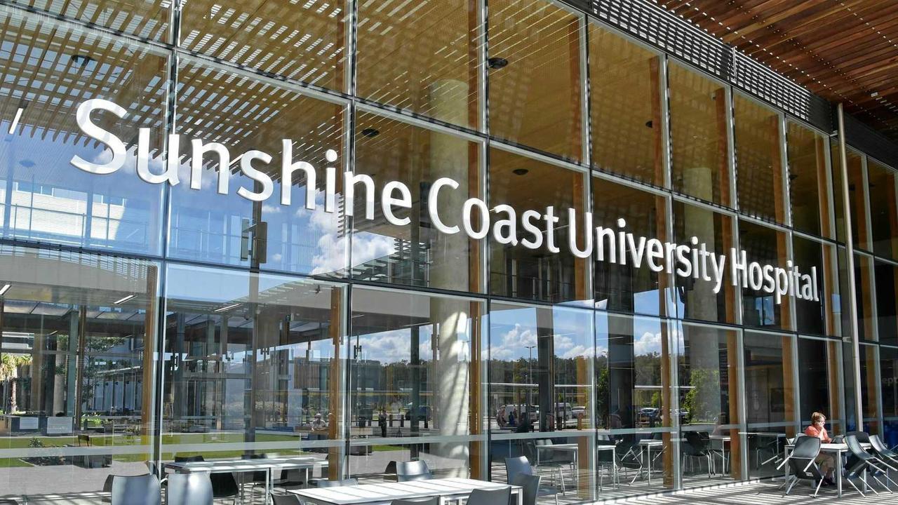 A child was rushed to Sunshine Coast University Hospital on Thursday night.