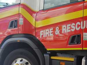 'Too much damage': Cause of shed fire unknown