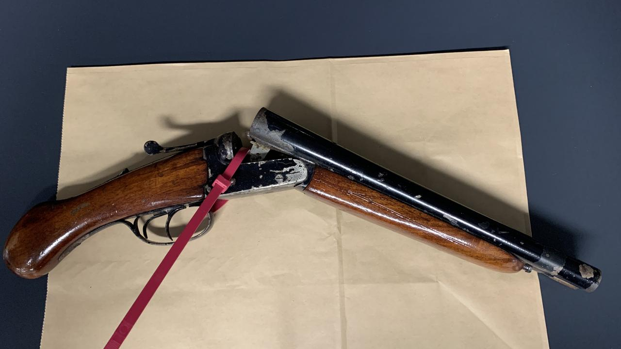 Ipswich police located a sawn-off shotgun in the roof of a Brassal home. Pic: file photo
