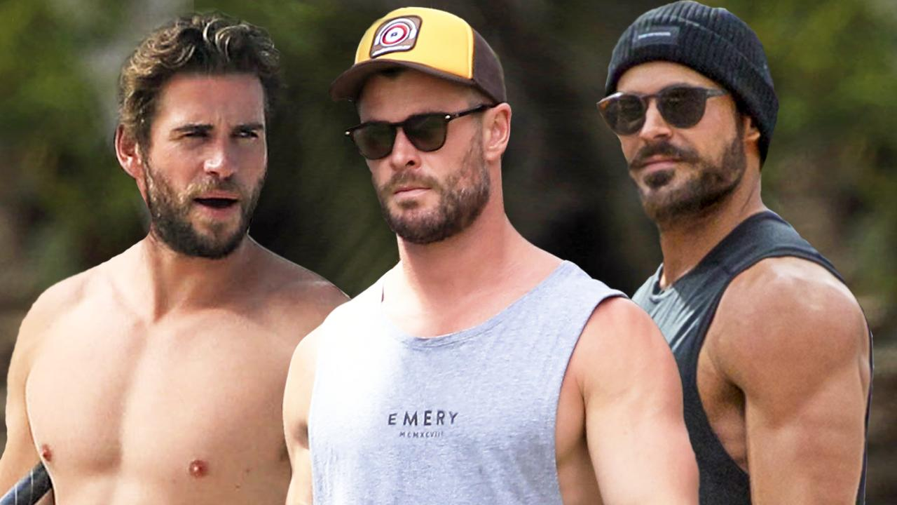 Liam, Chris and Zac … celebs are swarming the town.