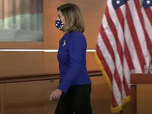 'Waste of time': Nancy Pelosi storms out