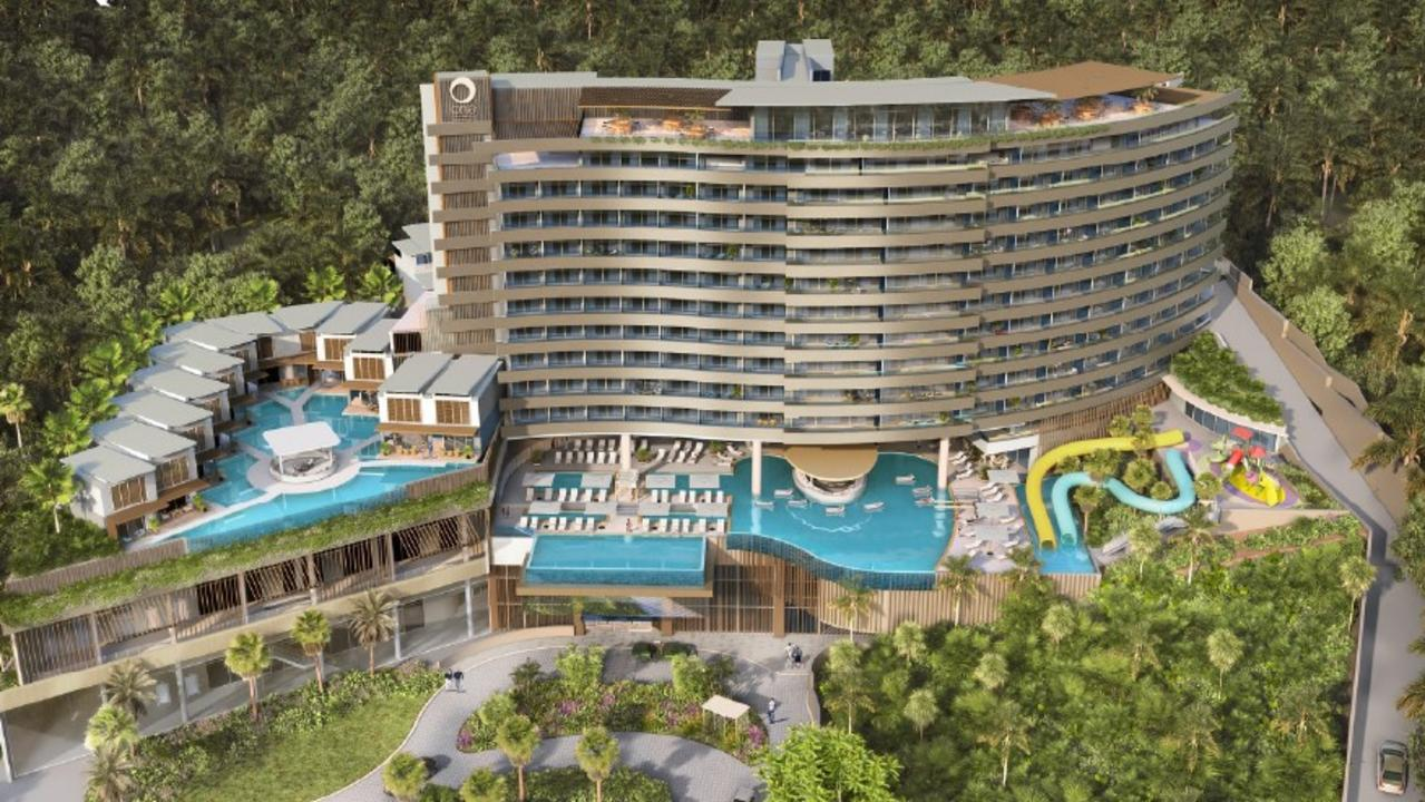 The complex would include 14 levels. Photo: One Whitsunday Developments Pty Ltd