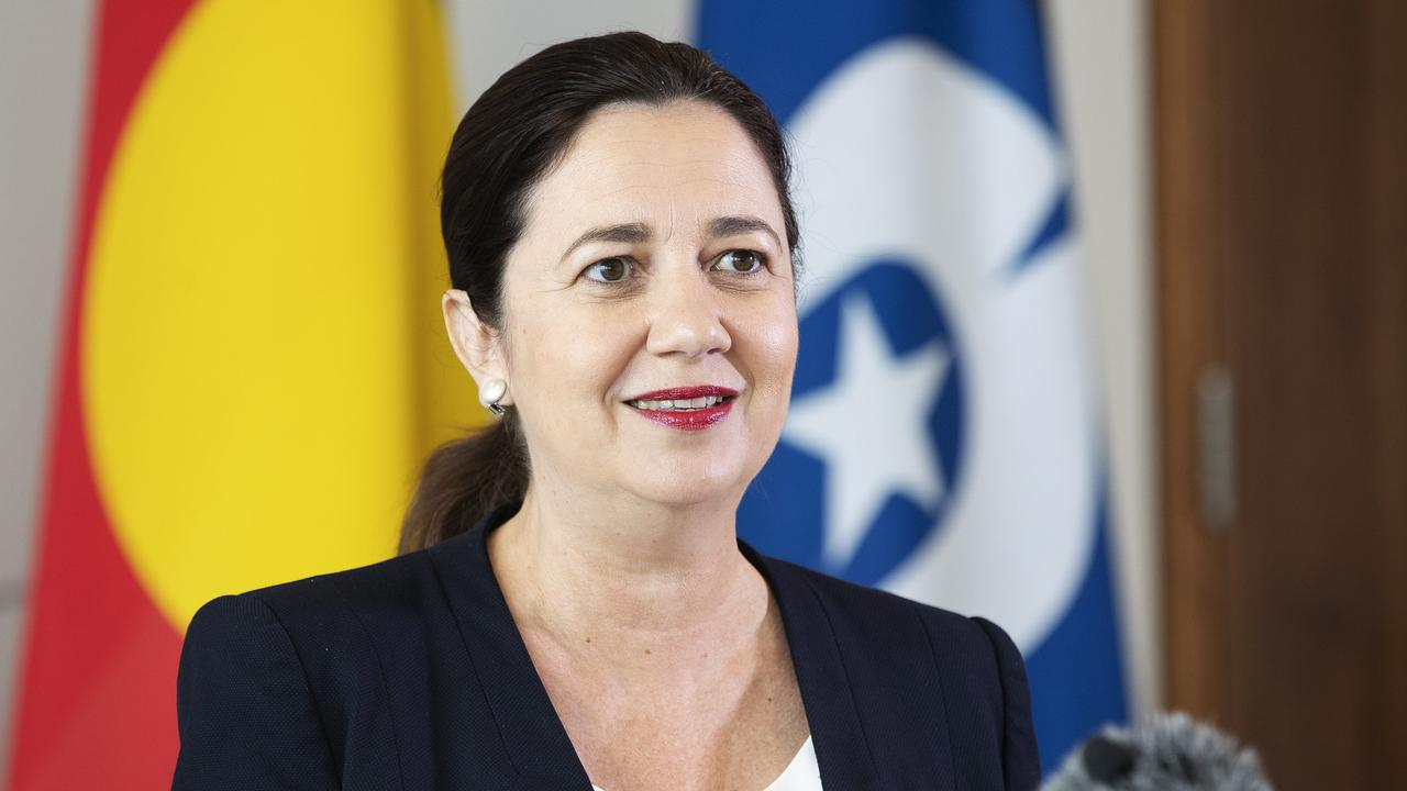 Premier Annastacia Palaszczuk promised during the October election campaign to put voluntary assisted dying legislation before the parliament by February. (News Corp/Attila Csaszar)