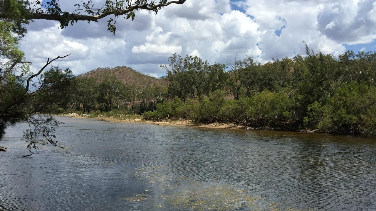 Urannah Creek, site of the proposed Urannah Dam, west of Mackay.