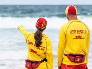Young woman pulled from water at popular beach