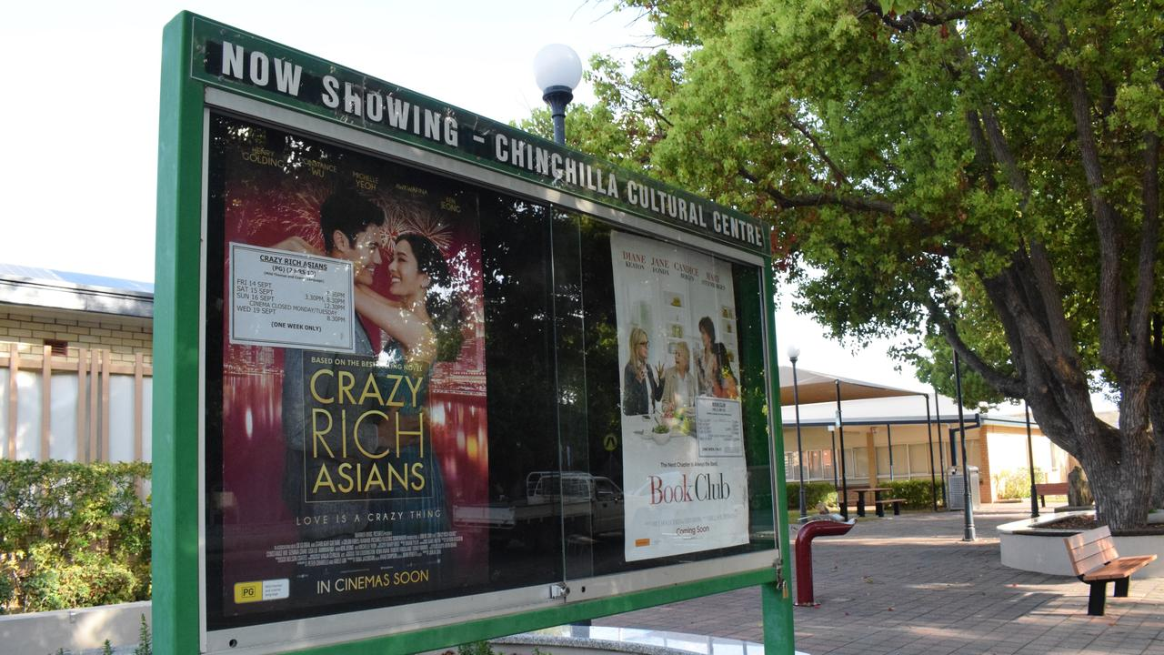 NEW UPGRADES: Western Downs Regional Council will be upgrading the Chinchilla cinema this year. Picture: File