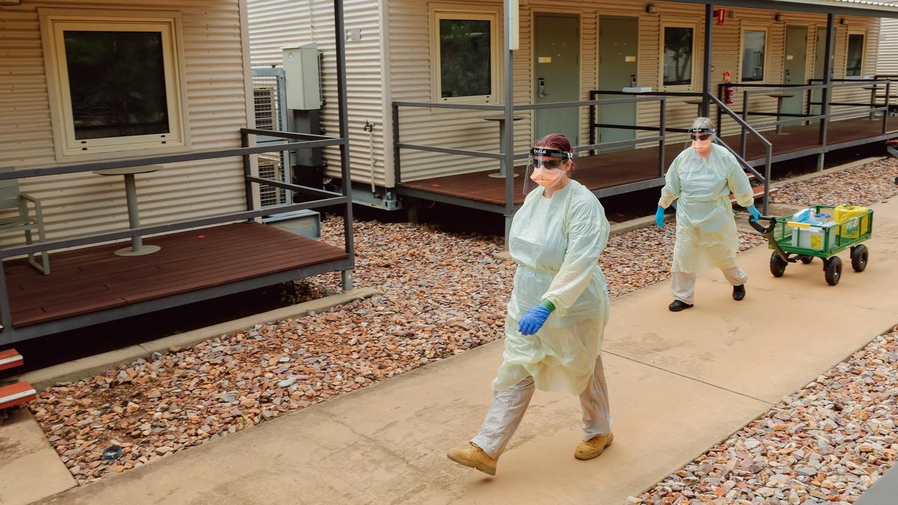 The Northern Territory has recorded two new cases of coronavirus at the Howard Springs quarantine facility.