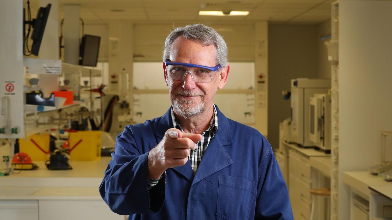 UQ Professor Paul Young. Picture: Liam Kidston.