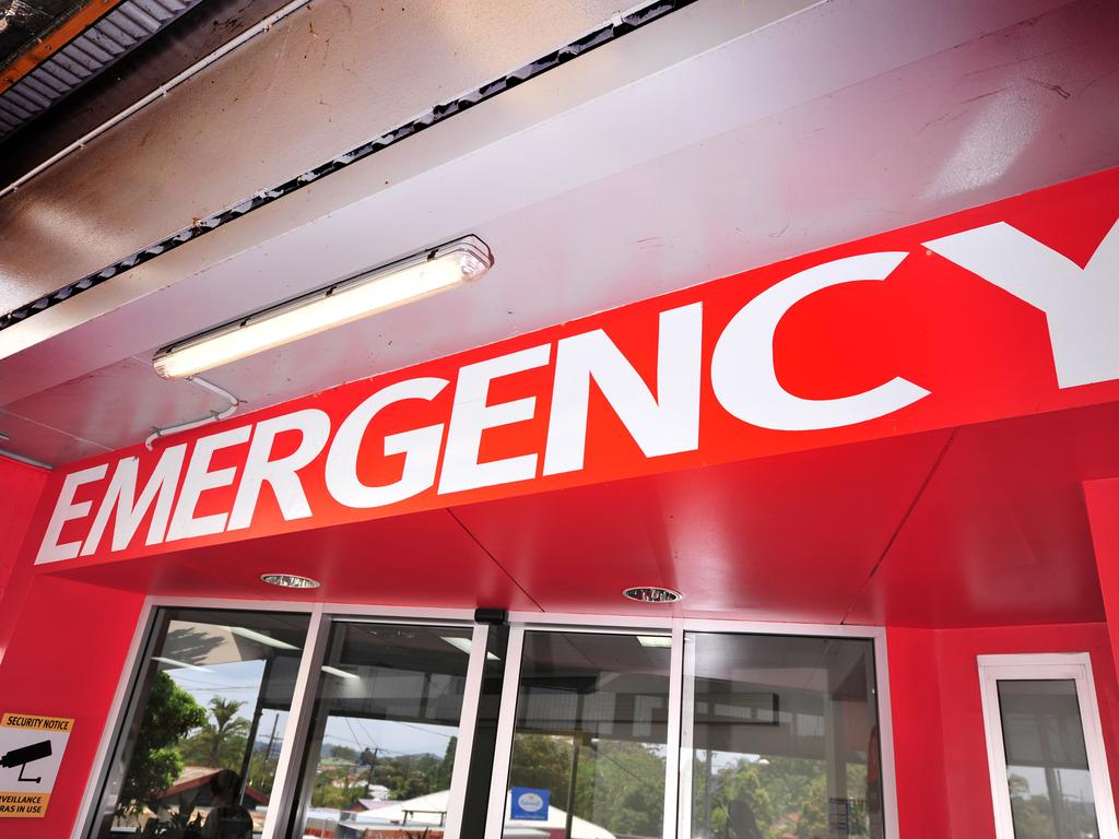 A woman sustained a foot injury at a private residence at Gheerulla.