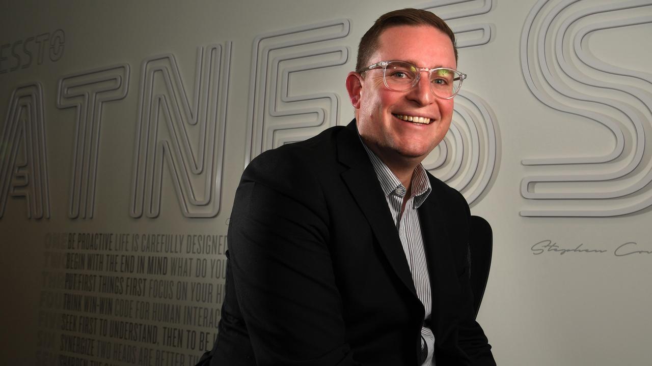 Sullivan Consulting managing director Andrew Sullivan. Picture: Tricia Watkinson