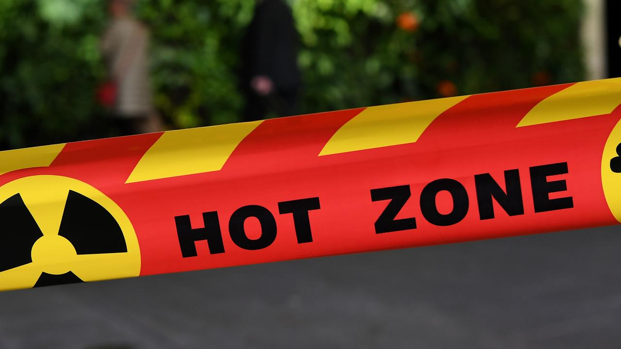 Emergency services are evacuating part of the Gold Coast suburb of Ormeau after an orange gas cloud formed above an industrial estate.