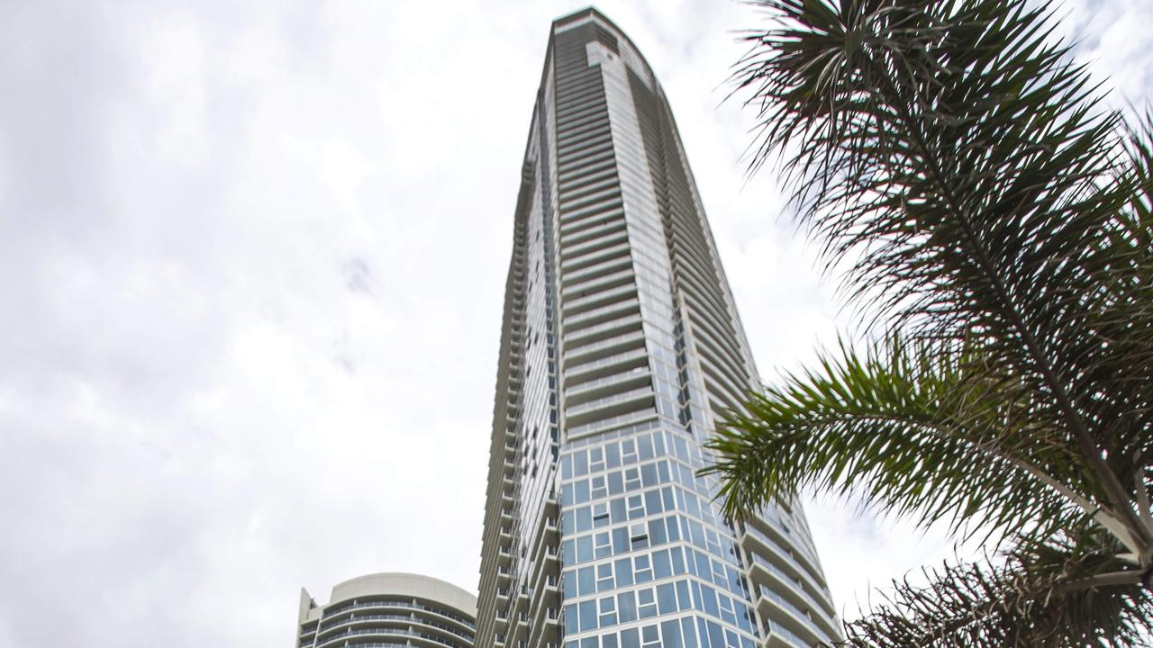 The Surfers Paradise Hilton Picture: NIGEL HALLETT