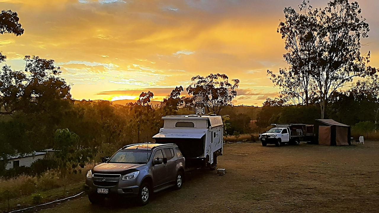 Mount Larcom Tourist Park is proving a winner with grey nomads.