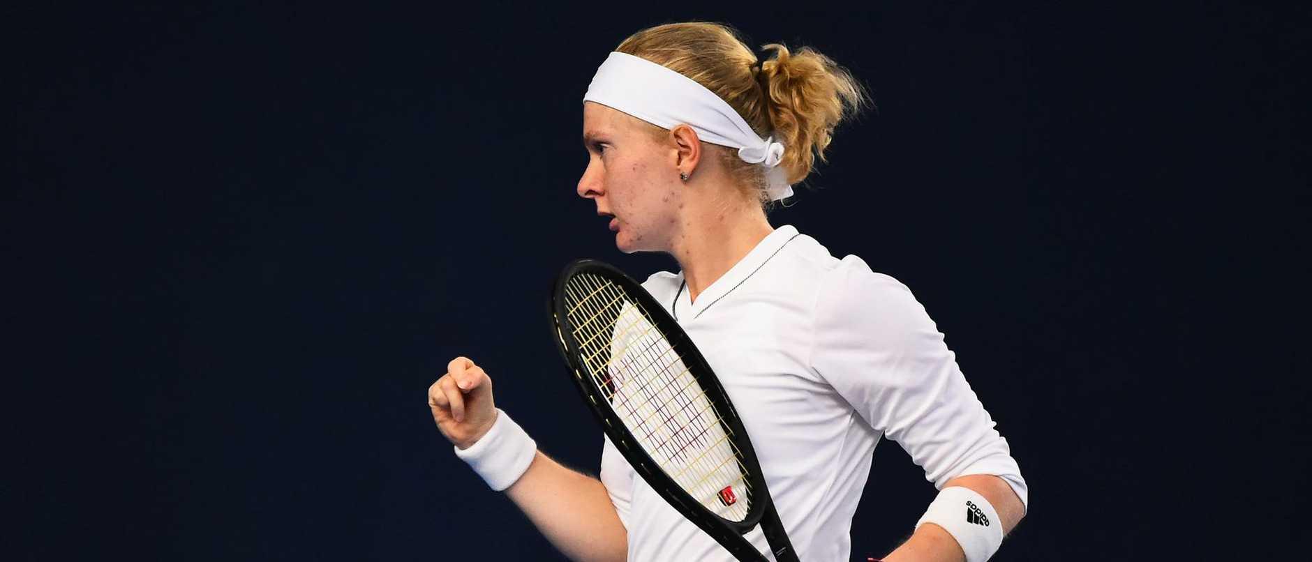 British qualifier Francesca Jones overcomes rare condition to fulfil her tennis dream