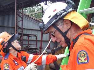 Orange army leader reflects on a decade after Yasi disaster