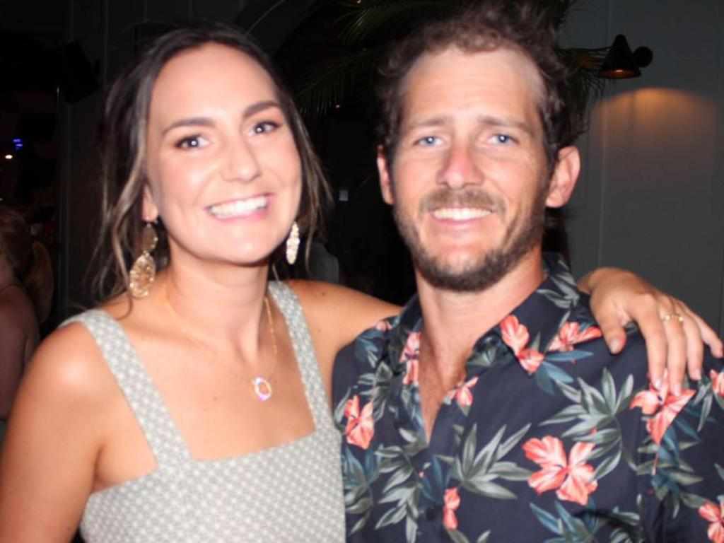 Kate Leadbetter and Matty Field were killed when they were struck by a car crossing the road while walking their dog at Alexandra Hills on Australia Day. Picture: Facebook