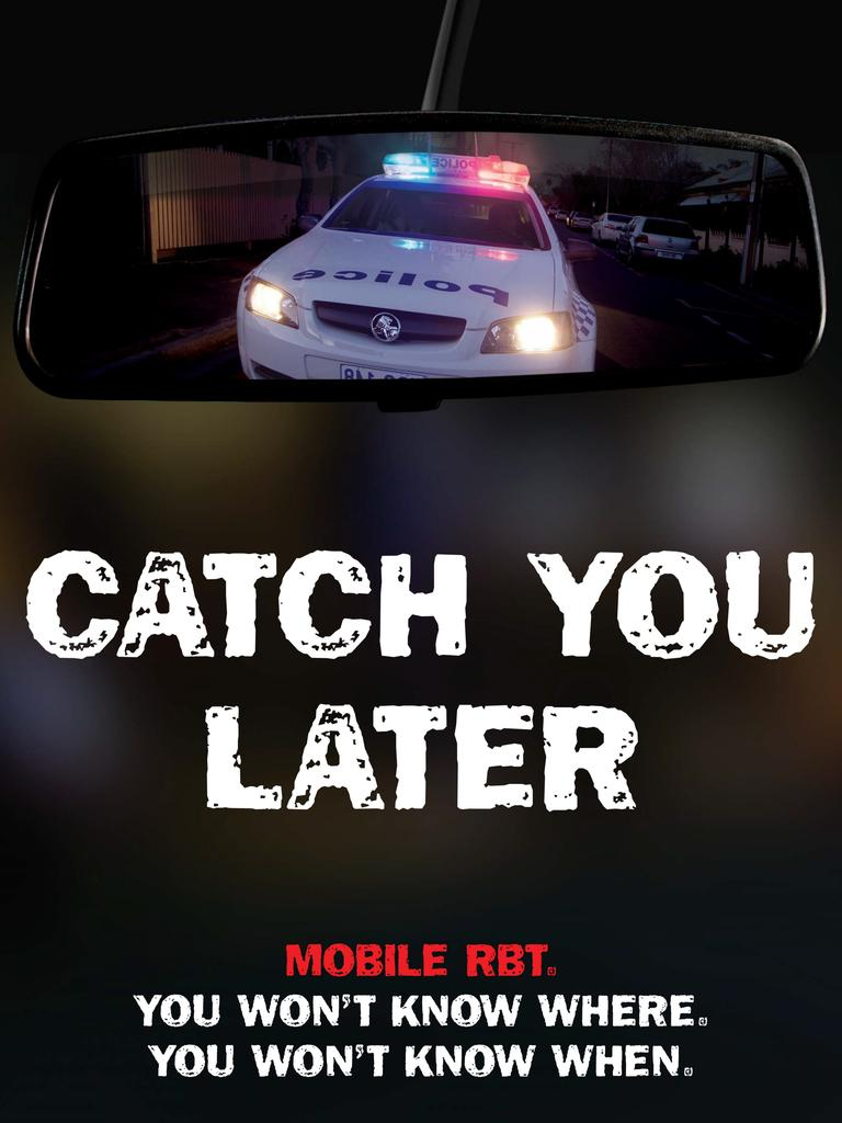 """The """"Catch You Later"""" drink-driving campaign from 2007."""