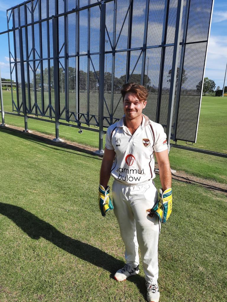 Ipswich Hornets wicketkeeper/batsman Jake Cross. Picture: David Lems