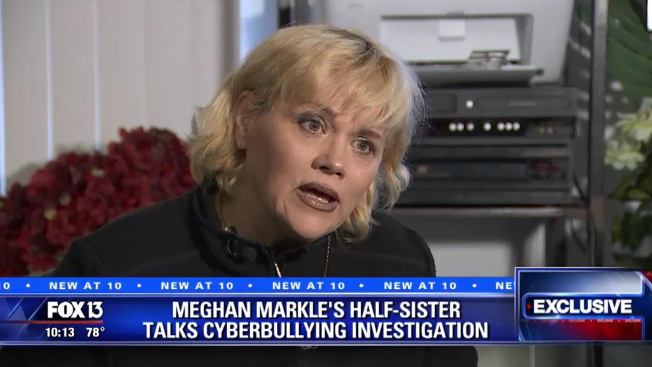 Sib-lit star Samantha Markle.