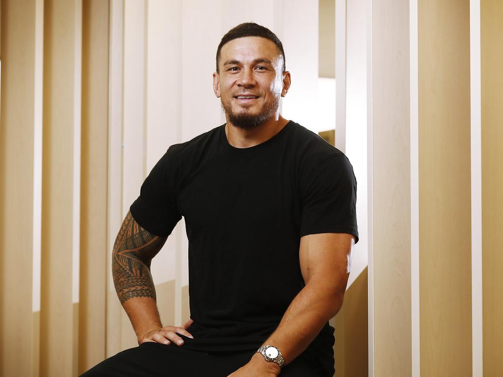Sonny Bill Williams will release his autobiography later this year. Picture: Sam Ruttyn