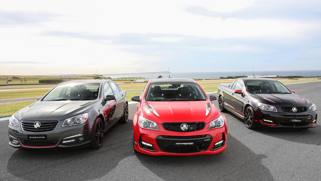 Holden's Limited Edition Holden Commodores – the Director, Motorsport Edition and Magnum – are particularly valuable.