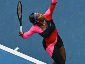 World goes crazy for Serena's catsuit