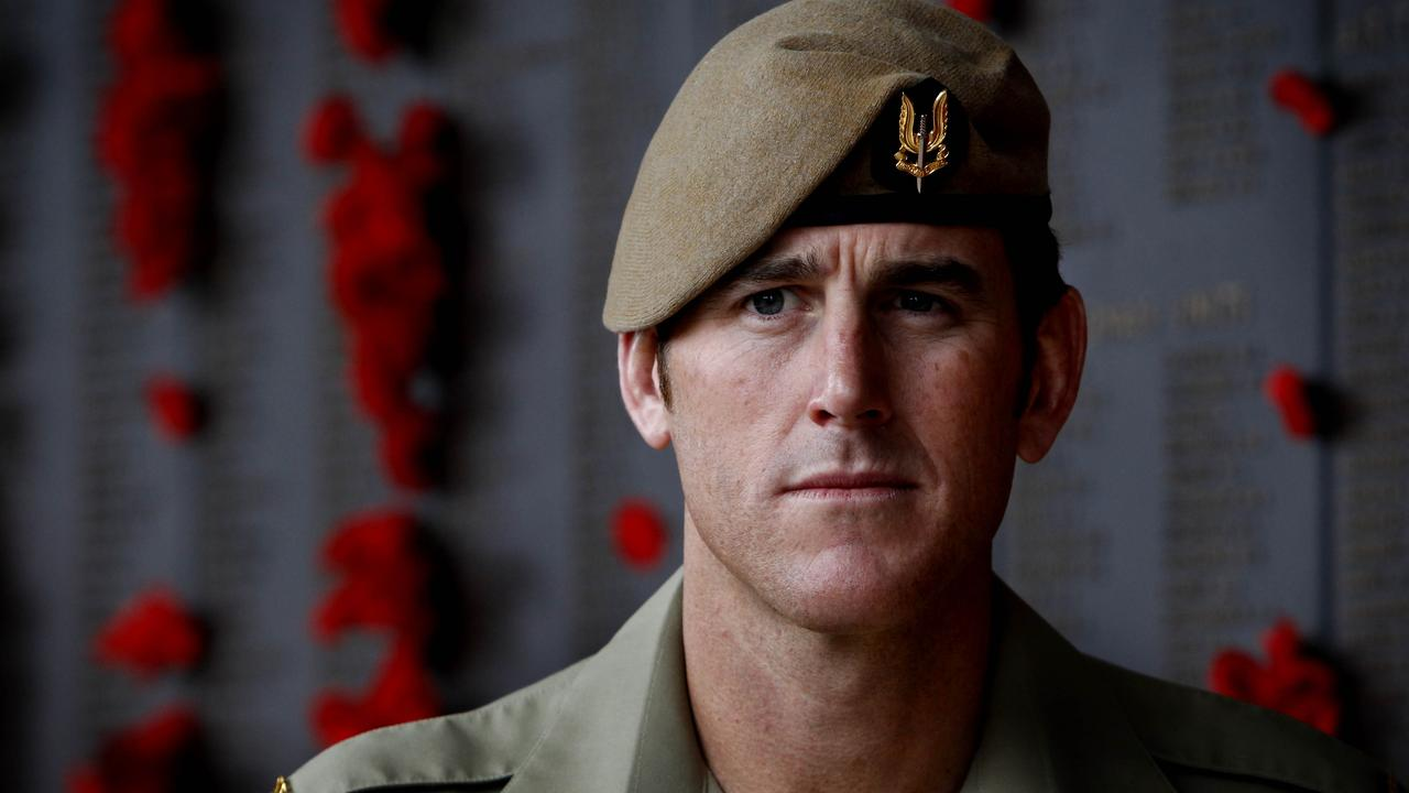 SAS Corporal Ben (Benjamin) Roberts-Smith VC, in a file picture taken at the Australian War Memorial in Canberra. Pic Ray Strange.