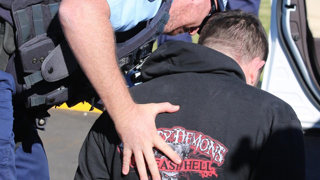 Ballina man Jake Magri was arrested during massive police raids across three states.