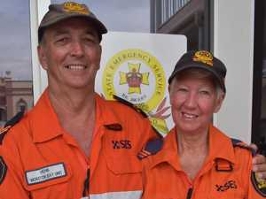 SES couple's love of volunteering and love for each other