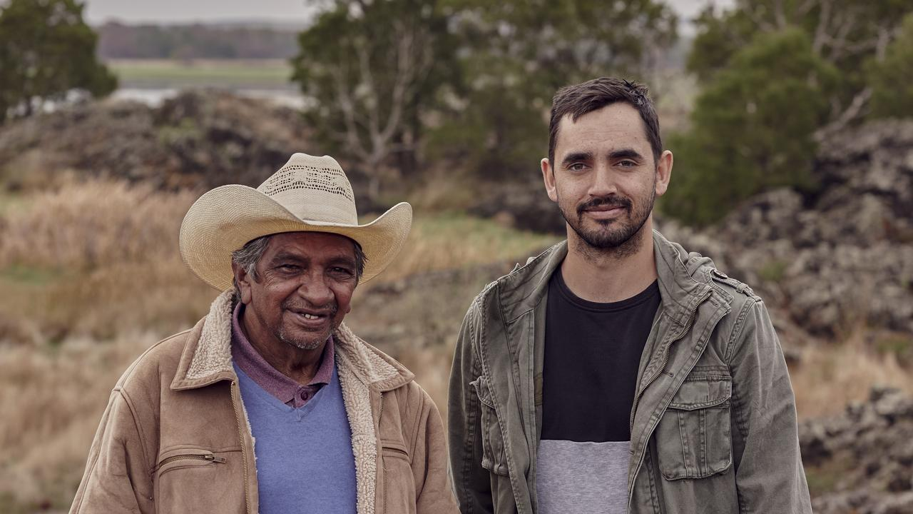 Uncle Johnny and Tyson Lovett-Murray are part of the Deadly & Proud campaign.