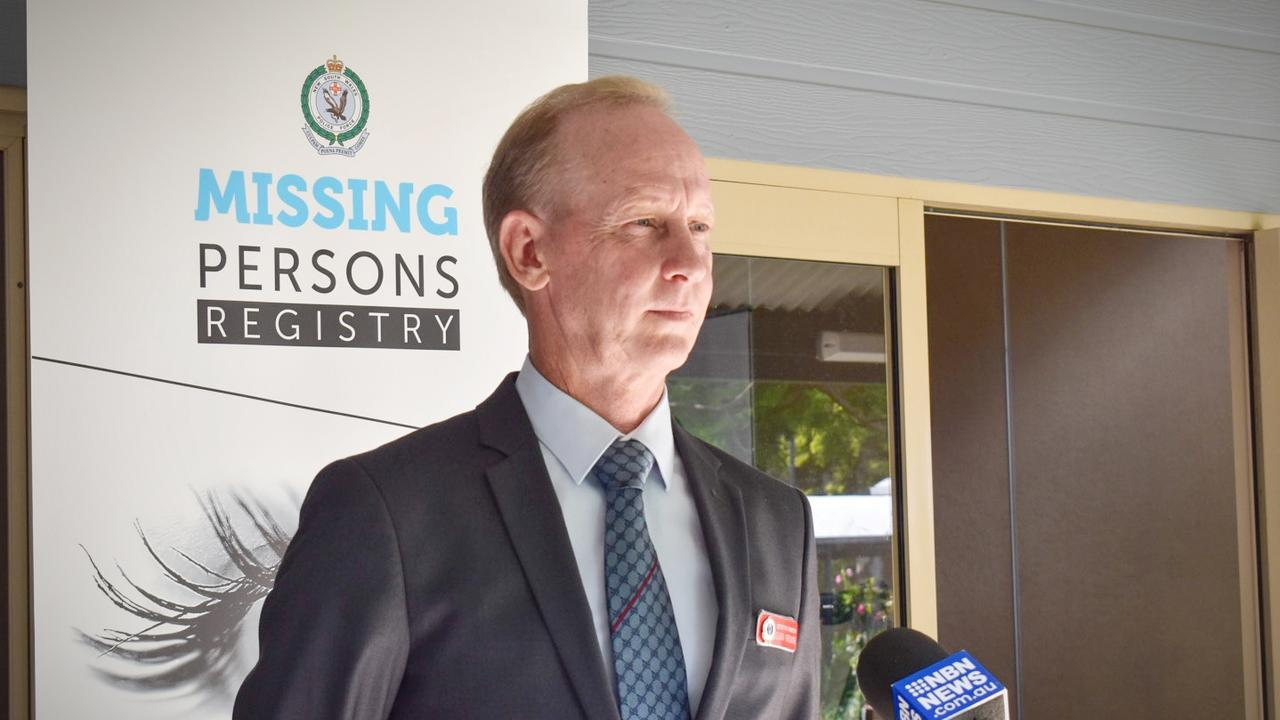 Detective Inspector Glen Browne launched the familial DNA collection pilot program in Coffs Harbour on Monday, February 8. Photo: Jasmine Minhas
