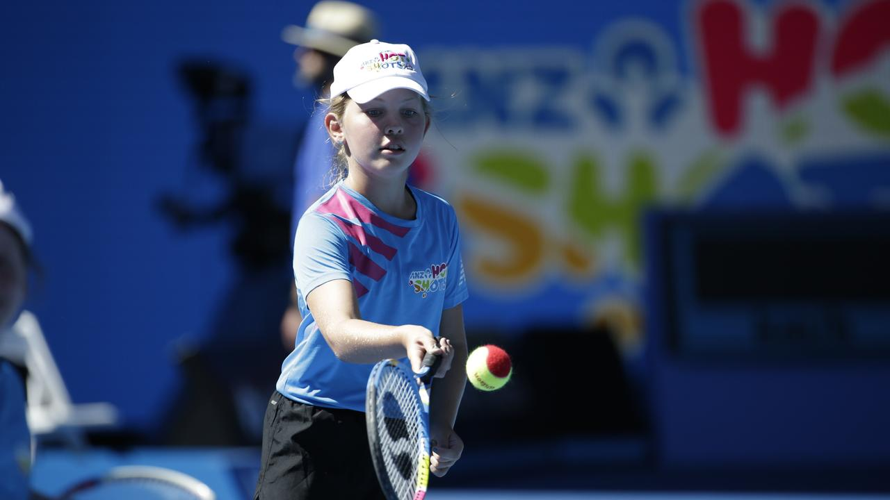 Bundaberg's Poppy Loeskow will offer advice to this year's Australian Open coin crew as part of ANZ and Tennis Australia's Legacy Coin Crew in 2021. Photo: Contributed