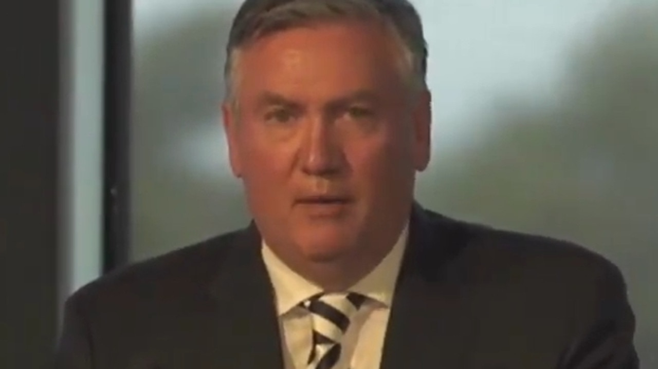 Eddie McGuire apologised for the remarks he made in an earlier press conference.