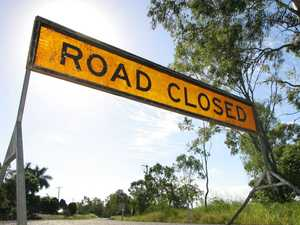 CQ bridge closing for repair works caused in truck fire