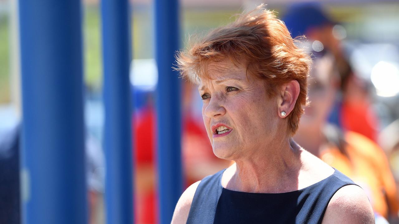 Senator Pauline Hanson. Picture: Matt Taylor